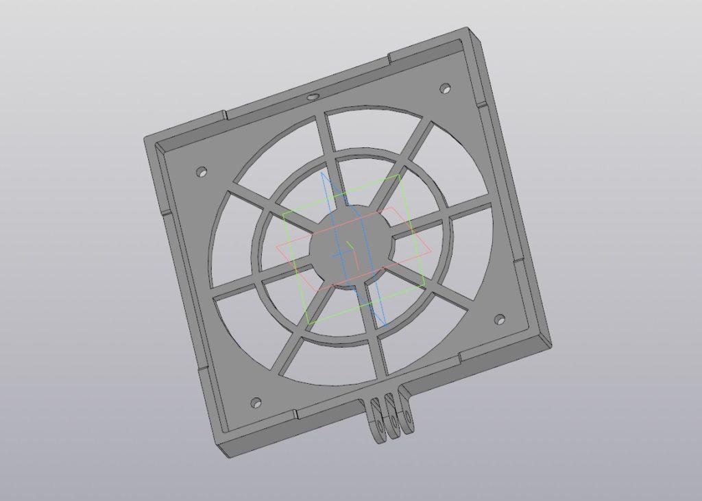 Под фильтр и вентилятор